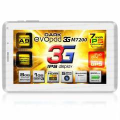 "Dark EvoPad M7200 7"" IPS 3G SIM GPS Tablet PC"