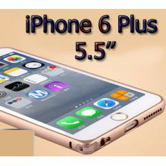 iPhone 6 Plus K�l�f 5.5'' ��k bumper metal+film
