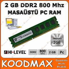 Hi-Level 2 GB DDR2 800 MHZ RAM - 2. El