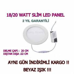 SL�M PANEL 18 WATT - BEYAZ I�IK - LED SPOT 18-20