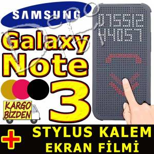 Samsung Galaxy Note 3 Dot View K�l�f