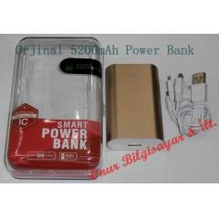 Power Bank PowerBank 5200mAh Mobil �arj Cihaz�