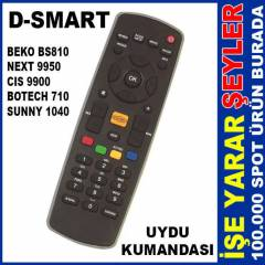 D-SMART ve NEXT 9950 ORJ�NAL UYDU KUMANDASI