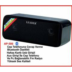 LEADER AP-606 BLUETOOTH+USB+CARD+FM PC HOPARL�R