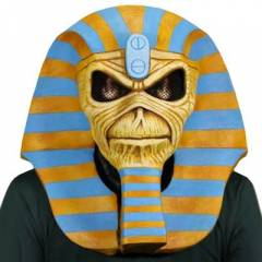 Iron Maiden Powerslave Limited Edition Latex Mas