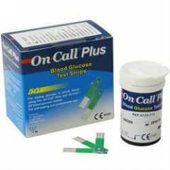 ON-CALL PLUS BLOOD GLUCOSE STRIP 100 ADET