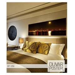 REFLECTION ON SEA DUVAR POSTER 178x65 cm