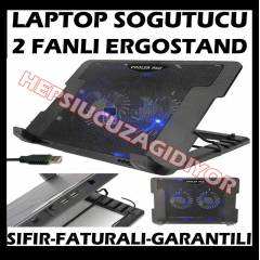 LAPTOP NOTEBOOK SO�UTUCU 2 FANLI ERGOSTAND SO�UT