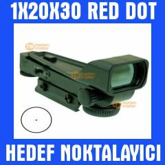 1X20X30 Pointer Red Dot Hedef Noktalay�c� 012