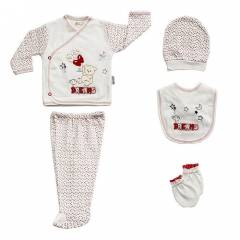 Bebitof 47702 Dreams Baby Hastane ��k��� 5li Set