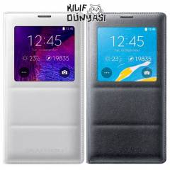 Samsung Galaxy Note 4 K�l�f Orjinal S-View Cover