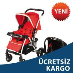 Kraft Cross Travel Sistem Bebek Arabas� K�rm�z�