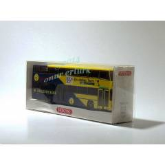 MAN �ift Katl� Maket Model Otob�s 1:87 Wiking