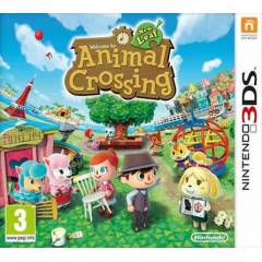 ANIMAL CROSSING NEW LEAF 3DS PAL SIFIR
