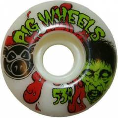 pig head natural,harmony,blast, tekerlek 53 mm