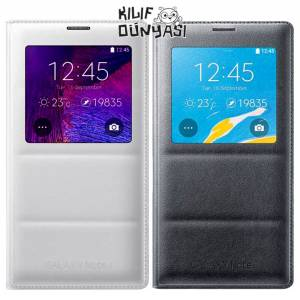 Samsung Galaxy Note 4 K�l�f S-View Cover Orjinal