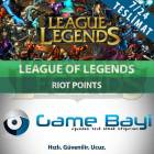 LOL 6450 Riot Points Epin League of Legends TR