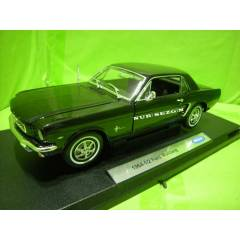 MODEL ARABA 1:18 1964 1/2 FORD MUSTANG KAPALI