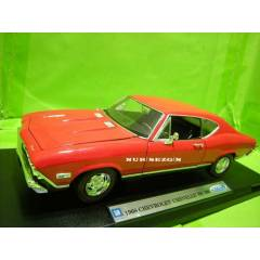 MODEL ARABA 1:18 1968 CHEVROLET CHEVELLE SS 396
