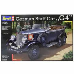 Revell German Staff Car G4 1:35 �l�ek Araba Ma