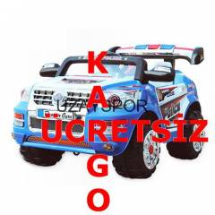 Denver Car Super Police Mavi Ak�l� Araba 2OR