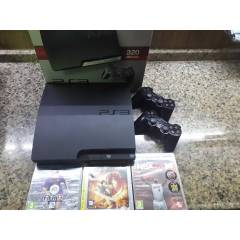 PS3 PLAYSTAT�ON 3 SIFIR AYARINDA 3 OYUN VE 2 KOL