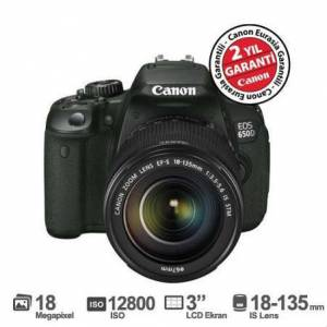 Canon Eos 650D 18-135mm IS STM Lens K�T DSLR