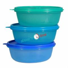 TUPPERWARE 3 �EKERPARE 600ML MAV�