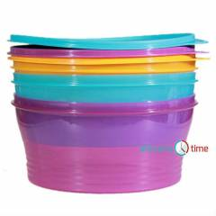 TUPPERWARE RENKL� SAKLA FULL SET (YEN� �R�N)