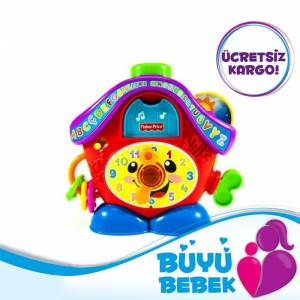 Fisher Price E�itici Saat T�rk�e