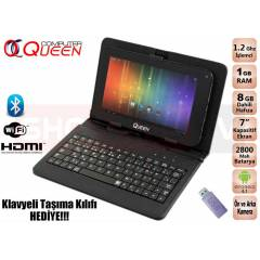 Queen Qtab 100 DualCore �ift Kameral� Tablet PC