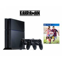Sony Ps4 500 GB +F�FA 15 +2 Adet Kol PAL C�HAZ