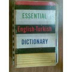 ESSENTIAL ENGL�SH-TURK�SH DICTIONARY