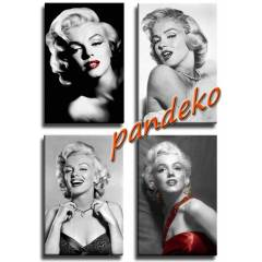 TUVALE D�J�TAL BASKI-KANVAS TABLO-MARILYN MONROE