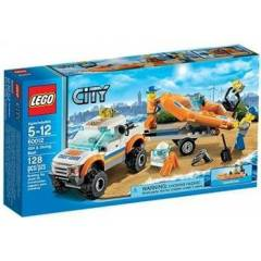 Lego City 60012 4x4   Diving Boat
