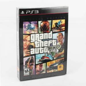 GTA 5 PS3 Special Edition Grand Theft Auto 5