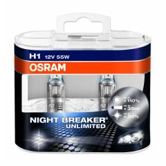 OSRAM Night Breaker Unlimited 12v H1 55w Ampul
