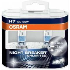 OSRAM Night Breaker Unlimited 12v H7 55w Ampul