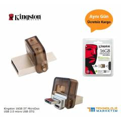 Kingston 16Gb Dual USB OTG Flash Bellek Disk