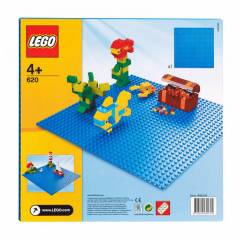 lego bricks & more Blue Building Plate 32X32
