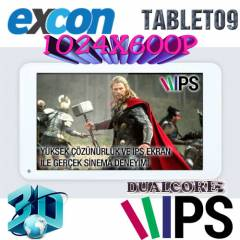 Excon M81 Ips Ekran Tablet Pc 8GB Dahili 1gb Ram
