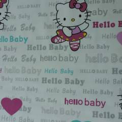 Hello Kitty Baby Fon Perde