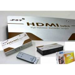 S-link 2 port hdmi switch kumandal� otomatik