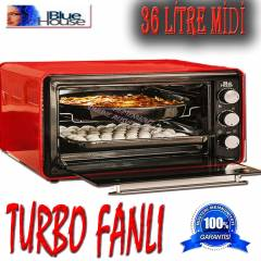 BLUE HOUSE 763 TURBO 36 L�TRE mini f�r�n
