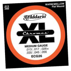 D'addario ECG26 Chromes Medium Tak�m Tel