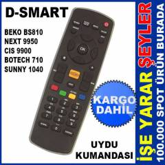 D-SMART ve NEXT 9950 ORJ�NAL UYDU KUMANDASI KD