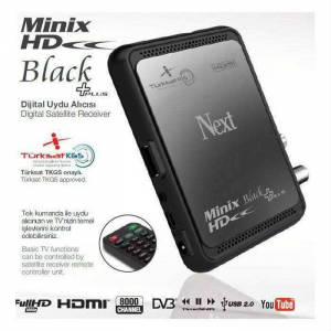 Next Minix Full HD Black Plus Uydu Al�c�s� TKGS