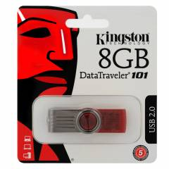 Kingston 8 GB DT101G2 USB Flash Bellek