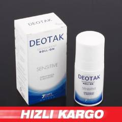 -Deotak Un�sex Sens�t�ve Deodorant Roll-On 35ml
