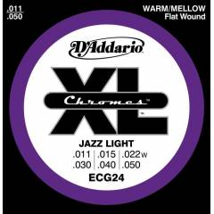 D'addario ECG24 - Jazz Light Tak�m Tel